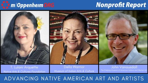 Advancing Native American Art and Artists panel poster