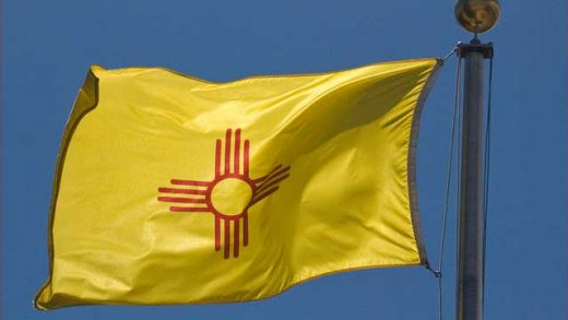 """""""New Mexico State Flag -- The Capitol Santa Fe (NM)"""" by Ron Cogswell licensed under CC BY 2.0"""