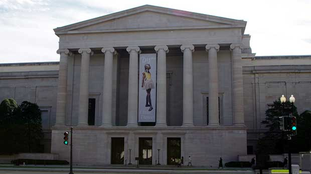 """""""National Gallery of Art, DC"""" by Mike Steele licensed under CC BY 2.0"""