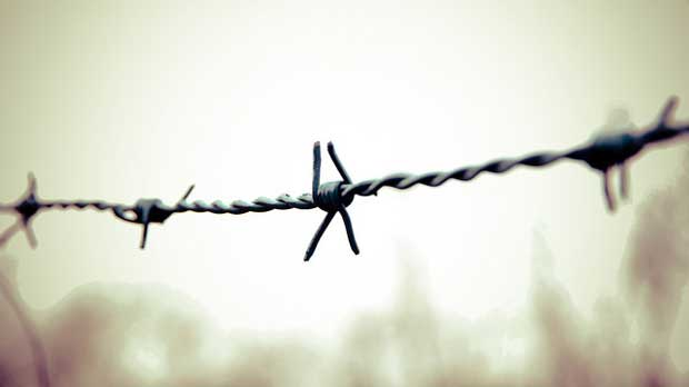 """barbed wire"" by Omer Unlu licensed under CC BY 2.0"