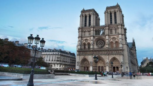 """""""Afternoon at Notre Dame"""" by Kosala Bandara licensed under CC BY 2.0"""