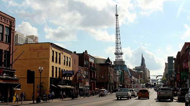 """Down Town Nashville, Tenneessee"" by Prayitno licensed under CC BY 2.0"