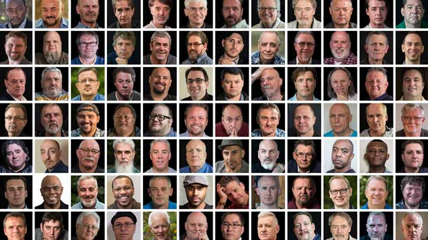 """1in6 Mosaic 92 Men"" Photo courtesy of 1in6"