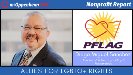 Diego Miguel Sanchez, PFLAG's Director of Advocacy, Policy and Partnership