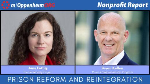 Mark Oppenheim leads a discussion on Prison Reform and Reintegration, with guests; Amy Fettig, Executive Director of The Sentencing Project & Bryan Kelley, CEO of Prison Entrepreneurship Program