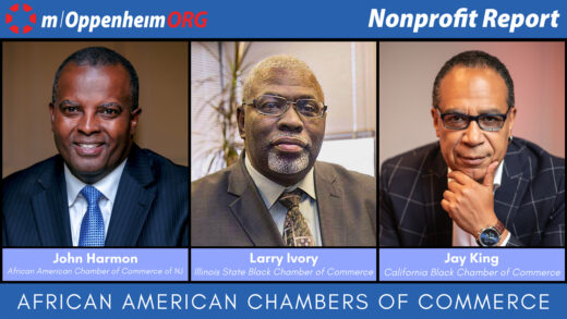John Harmon, President & CEO of The African American Chamber of Commerce of New Jersey, Inc. Larry Ivory, President & CEO of the Illinois State Black Chamber of Commerce & Jay King, President & CEO of California Black Chamber of Commerce