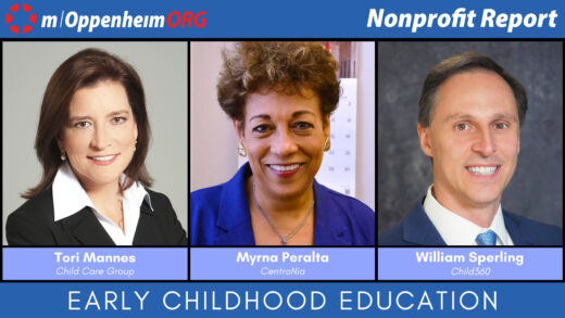 Tori Mannes, President and CEO of Child Care Group Myrna Peralta, President and CEO of CentroNia & William Sperling, CEO of Child360