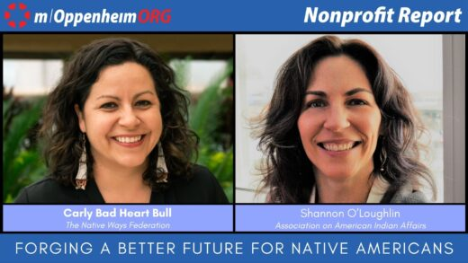 Carly Bad Heart Bull, Executive Director of Native Ways Federation & Shannon O'Loughlin, Chief Executive and Attorney of Association on American Indian Affairs