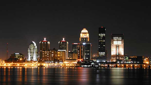"""""""Louisville Skyline"""" by The Pug Father licensed under CC BY 2.0"""