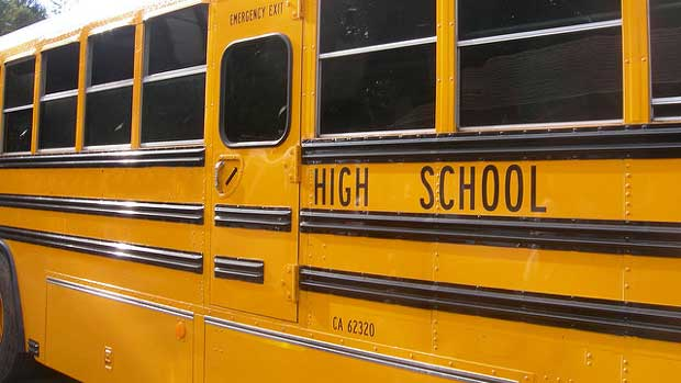 """""""School bus"""" by Loree licensed under CC BY 2.0"""
