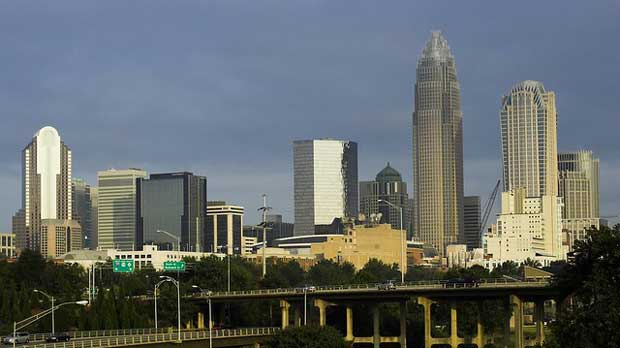 """""""Sunrise in Charlotte"""" by John Ashley licensed under CC BY 2.0"""