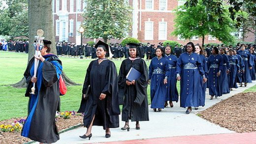 """""""Bennett College Graduation Procession"""" by Steven Depolo licensed under CC BY 2.0"""