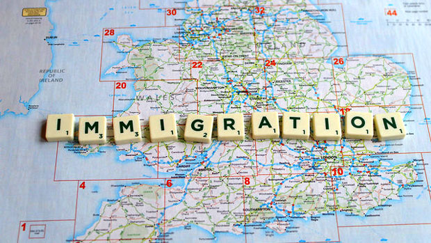 """Immigration"" by Jeff Djevdet licensed under CC BY 2.0"