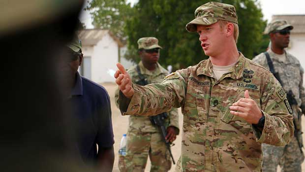 """""""Africa Readiness Training 2016 kicks off in Senegal"""" by US Army Africa licensed under CC BY 2.0"""