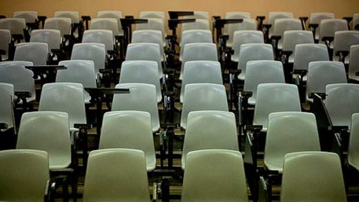 """""""Lecture Hall"""" by Sholeh licensed under CC BY 2.0"""