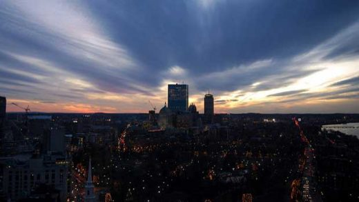 """Boston Sunset"" by walknboston licensed under CC BY 2.0"