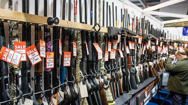 """""""semi automatic shotguns for sale"""" by big-ashb licensed under CC BY 2.0"""