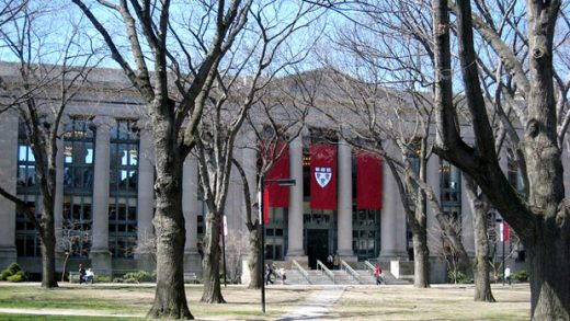 """""""Langdell Library, Harvard Law School"""" by Richard Howe licensed under CC BY 2.0"""