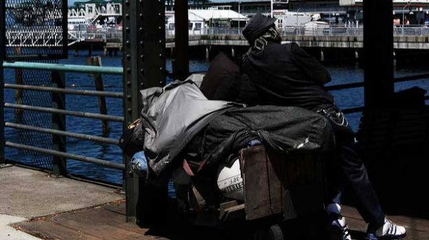 """""""Homeless in Seattle"""" by Rennett Stowe licensed under CC BY 2.0"""