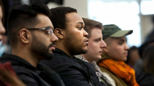 """""""College of DuPage Hosts 'African-Americans in Times of War' Panel Discussion"""" by COD Newsroom licensed under CC BY 2.0"""
