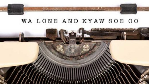 """Wa Lone and Kyaw Soe Oo"" by Twitter Trends 2019 licensed under CC BY 2.0"