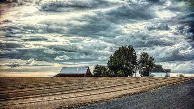 """""""The family farm - an endangered species"""" by Sheila Sund licensed under CC BY 2.0"""