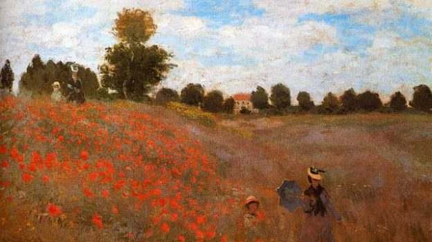 """Monet_Claude_Wild_Poppies_Near_Argenteuil"" by pixelsniper licensed under CC BY 2.0"