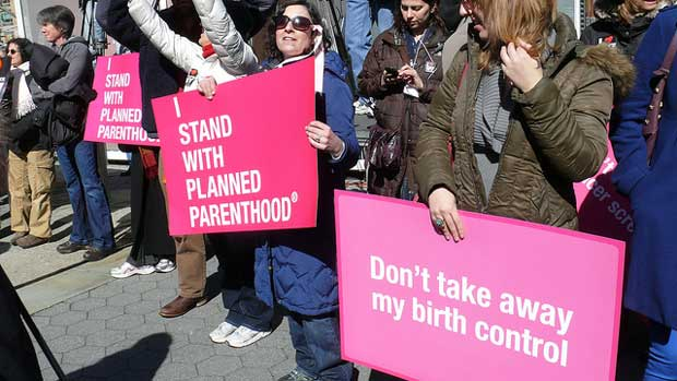 """""""I stand with Planned Parenthood"""" by Charlotte Cooper licensed under CC BY 2.0"""