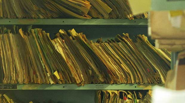 """Paper files of medical records"" by Newtown grafitti licensed under CC BY 2.0"