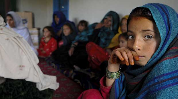 """""""Afghan women voice concerns to coalition forces"""" by DVIDSHUB licensed under CC BY 2.0"""