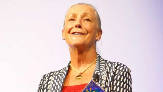 """""""Alice Walton presenting the Sam M. Walton Entrepreneur of the Year Award at the 2011 Walmart Shareholders Meeting"""" by Walmart licensed under CC BY 2.0"""