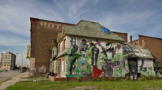 """""""The Dream (Detroit)"""" by dailyinvention licensed under CC BY 2.0"""