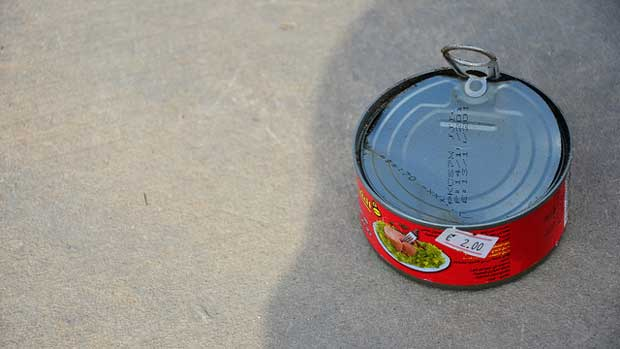 """Tuna can"" by Ben Sutherland licensed under CC BY 2.0"