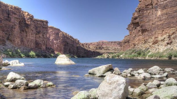 """""""Colorado River"""" by Denny Armstrong licensed under CC BY 2.0"""