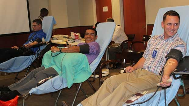 """""""U.S. Mission Organizes Blood Donation Event to Save Lives"""" by U.S. Mission Uganda licensed under CC BY 2.0"""