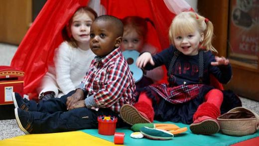 """""""Launch of the Early Learning Initiative"""" by Department of Children and Youth Affairs licensed under CC BY 2.0"""