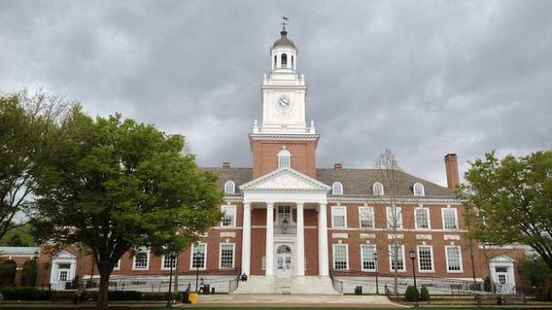 """""""John Hopkins in cloudy weather"""" by callison-burch licensed under CC BY 2.0"""