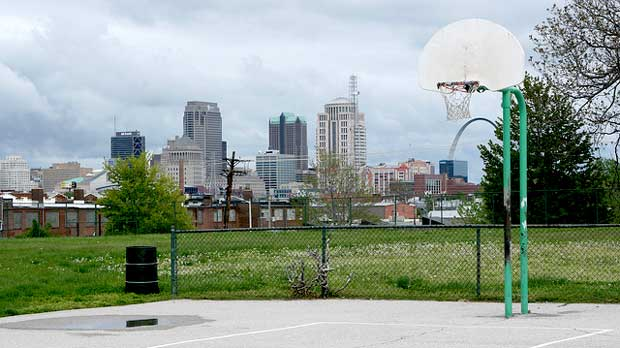 """""""Basketball Court in Buder Park"""" by Paul Sableman licensed under CC BY 2.0"""