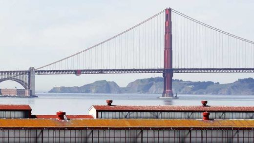 """""""Golden Gate Strait and The Bridge: clear skies"""" by Dimitry B. licensed under CC BY 2.0"""