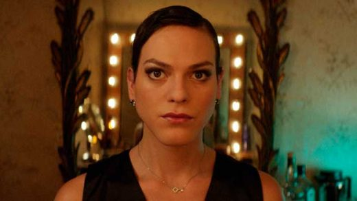 "This image released by Sony Pictures Classics shows Daniela Vega in a scene from, ""A Fantastic Woman."" The film won the Oscar for best foreign language film. LGBTQ representation in films from the seven biggest Hollywood studios fell significantly in 2017 according to a study released Tuesday, May 22, 2018, by the advocacy organization GLAAD. It says in its sixth annual report that of the 109 major releases surveyed from 2017, 12.8 percent included LGBTQ characters. (Sony Pictures Classics via AP)"