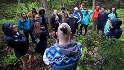 Native American Practices Class