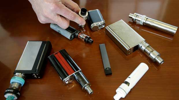 E Cigarettes on Table