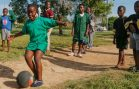 Out of Harm's Way: Kids Play Kickball to Escape Violence
