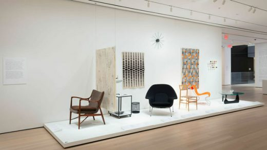 """This Feb. 6, 2019 photo shows an installation view of the exhibit """"The Value of Good Design,"""" at The Museum of Modern Art in New York. The exhibit runs Feb. 10 to June 15, 2019. (John Wronn/The Museum of Modern Art via AP)"""