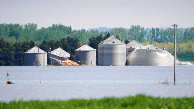 Climate US Flooded Farms