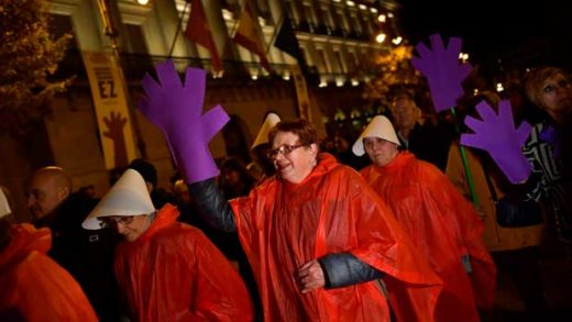 Spain Volence Against Women