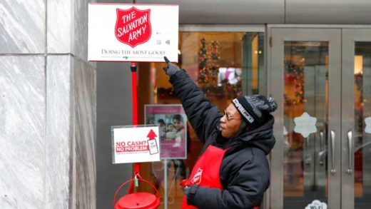 Red Kettles Mobile Donations