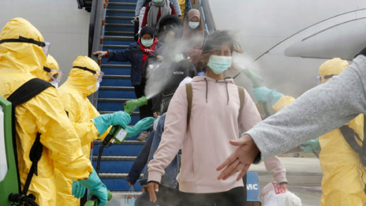 China Outbreak Global Quarantine