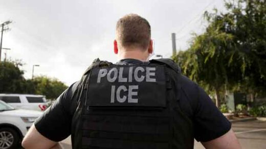 a U.S. Immigration and Customs Enforcement (ICE)