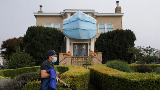 a house during the coronavirus pandemic in San Francisco